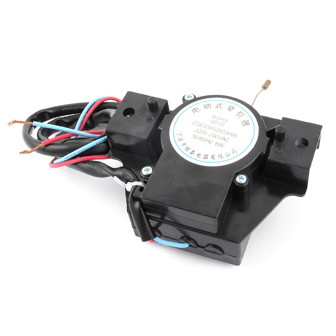AC 220V-250V 50/60Hz 6Watt Drain Motor Tractor Black for Sanyo Washing Machine