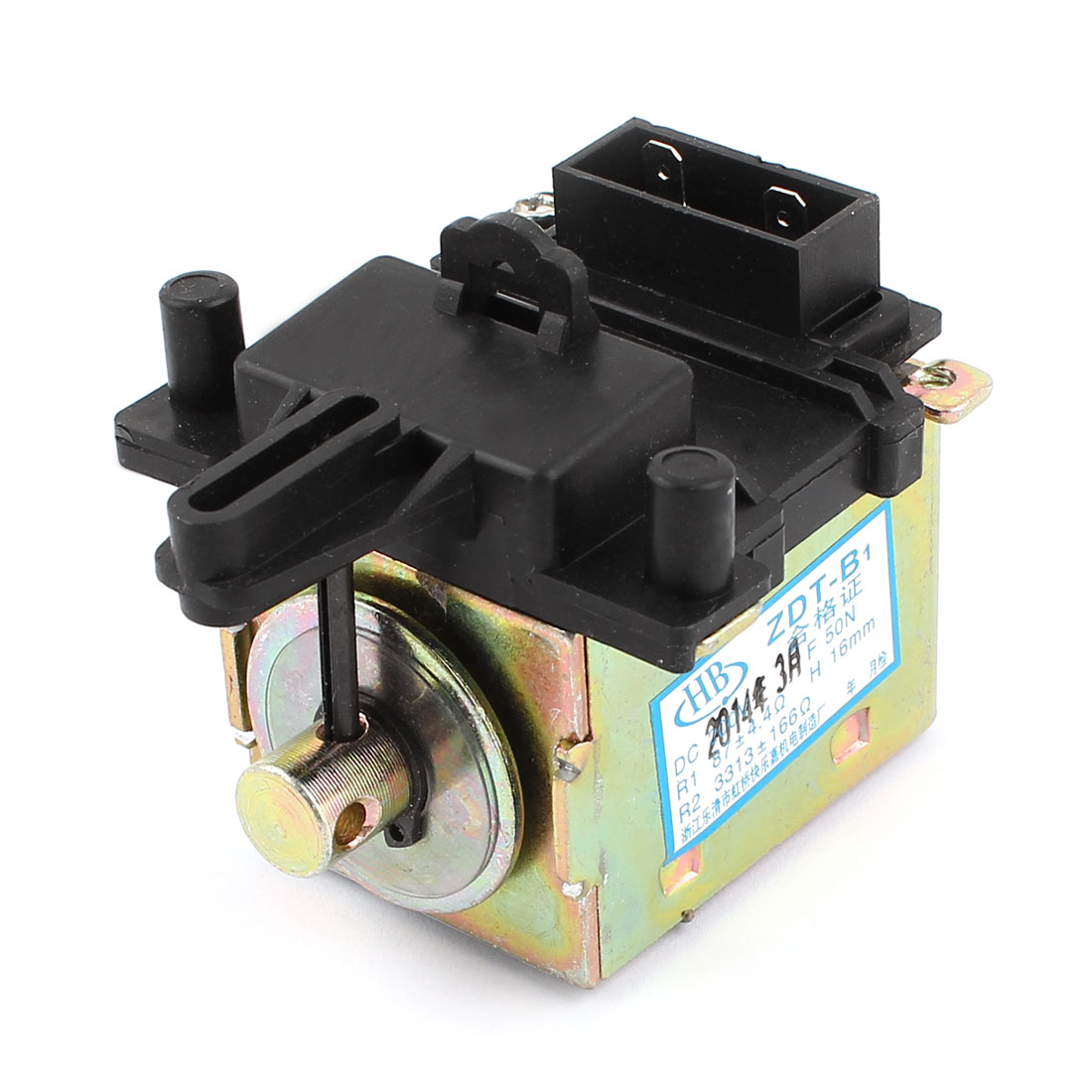 DC 200V 50N 16mm Drain Motor Tractor Black Bronze Tone for Washing Machine