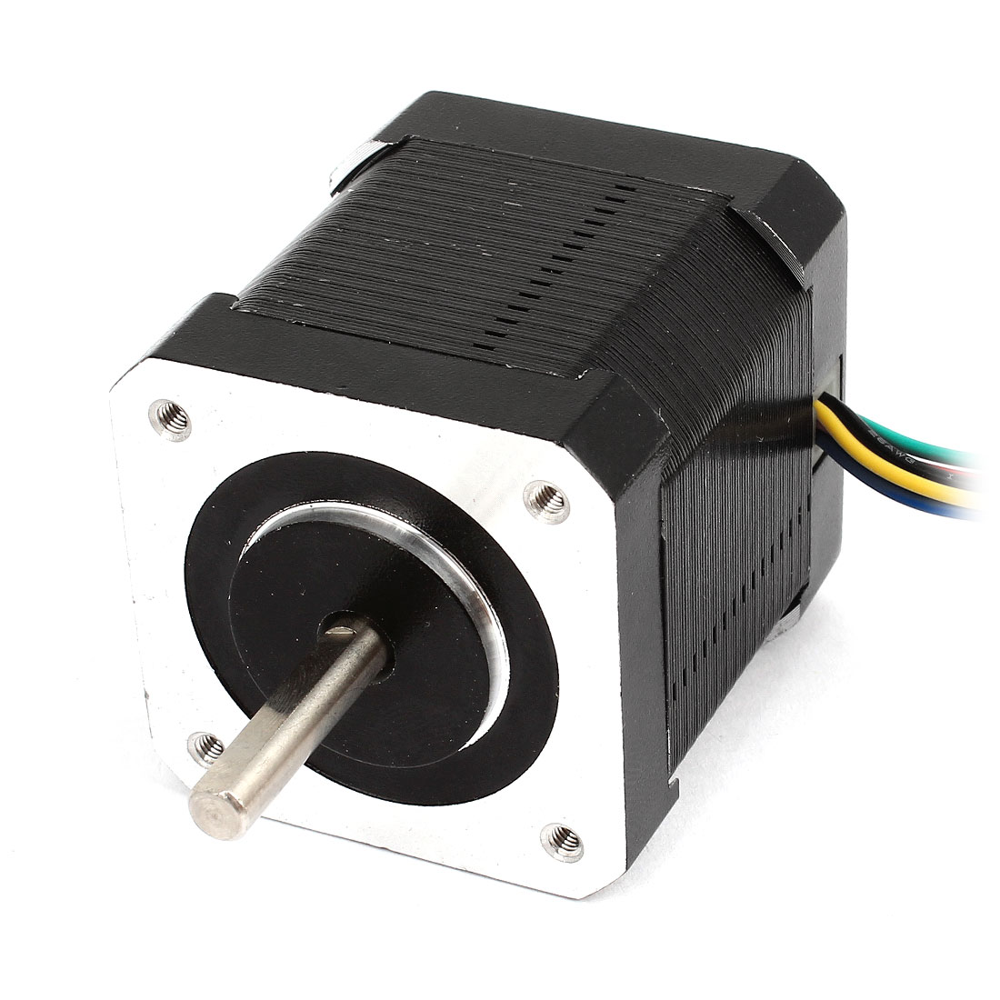 DC 12V 1.2A 42BYG47-01 1.8 Degree 3.1 Ohm 1200RPM 6 Wire Single Shaft Stepping Stepper Motor
