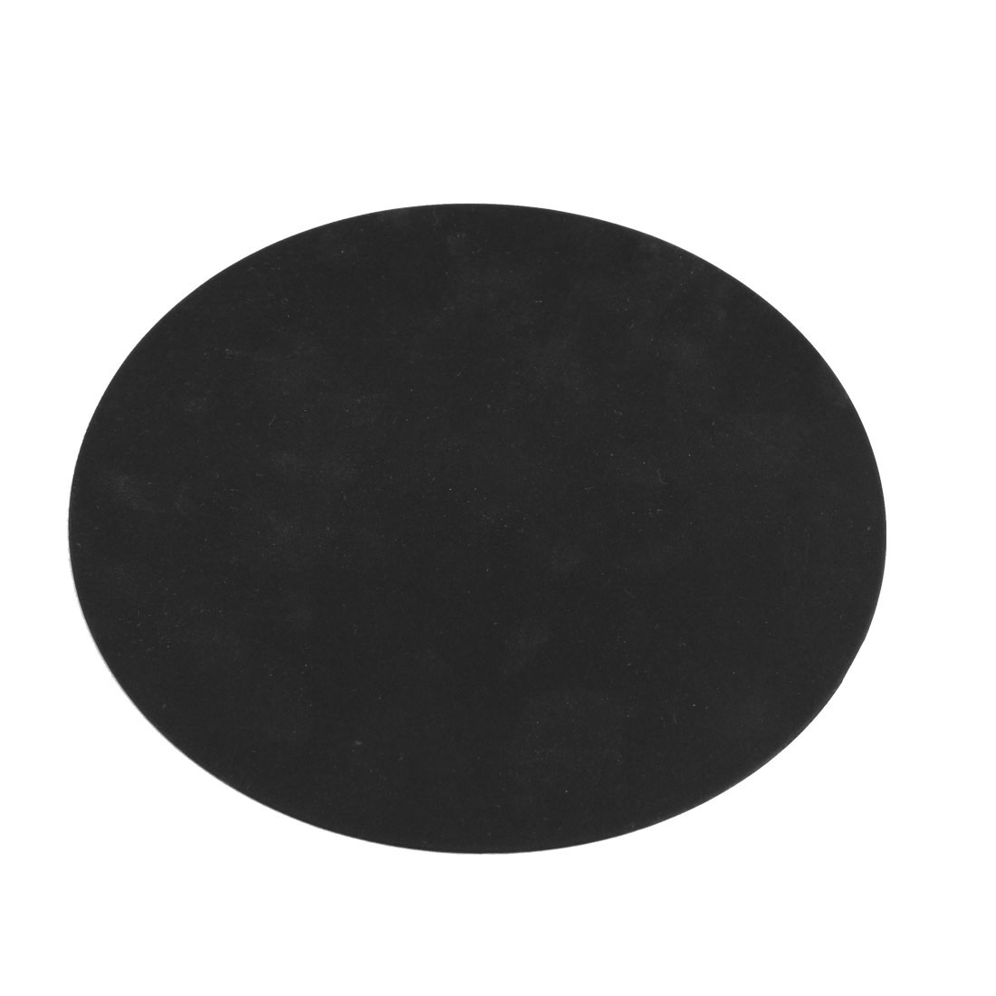 Soft Silicone Round Shape Antislip Mouse Pad Mat Black for PC Computer