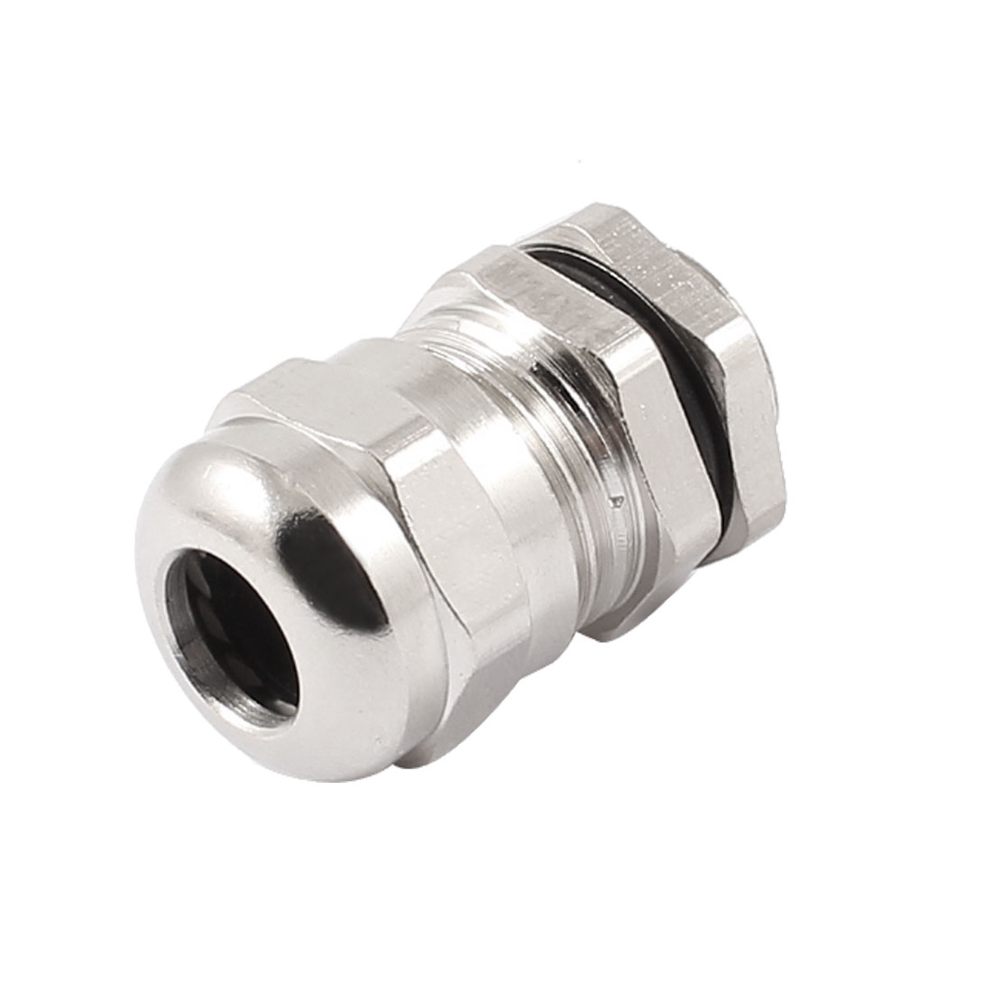 4-8mm Dia Wire 16mm OD Thread Metal Waterproof Connector Fastener Cable Gland