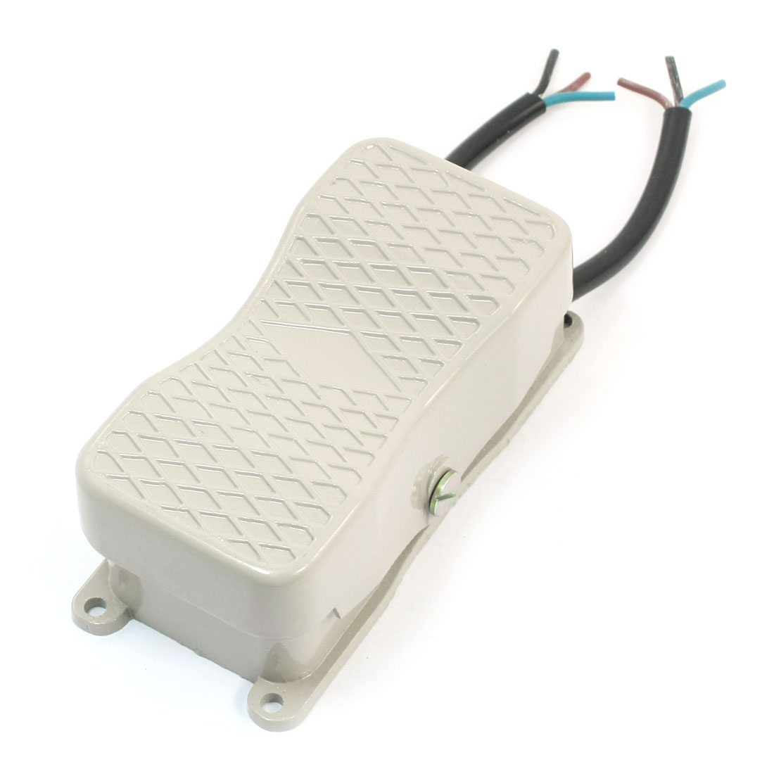 380V 15A SPDT 1NO 1NC Momentary Control Hand Free 2-Wired Nonslip Electric Reversing Foot Pedal Switch YDT1-18