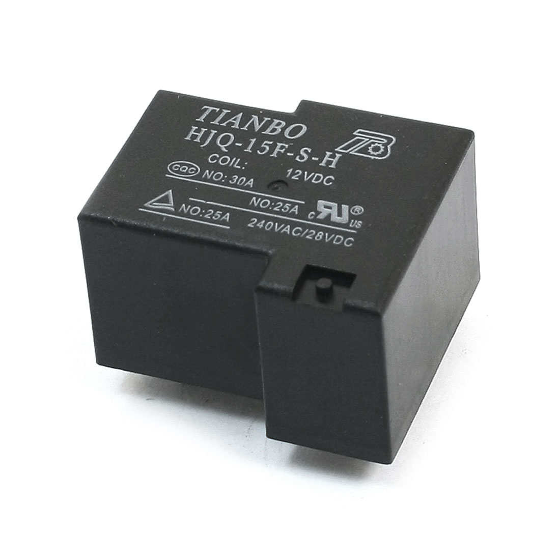 HJQ-15F-S-H-12VDC DC 12V 5-Pin SPDT 1NO 1NC Plug in Type PCB Surface Mounting General Purpose Coil Power Relay