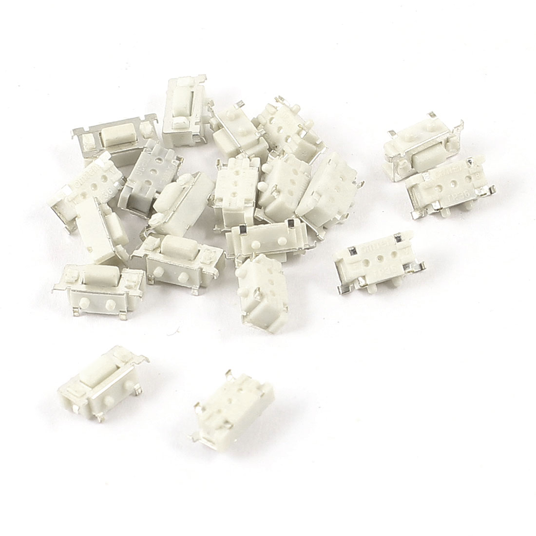 20pcs Momentary Rectangle Button SMD SPST Tactile Tact Switch 6mmx3mmx3.5mm