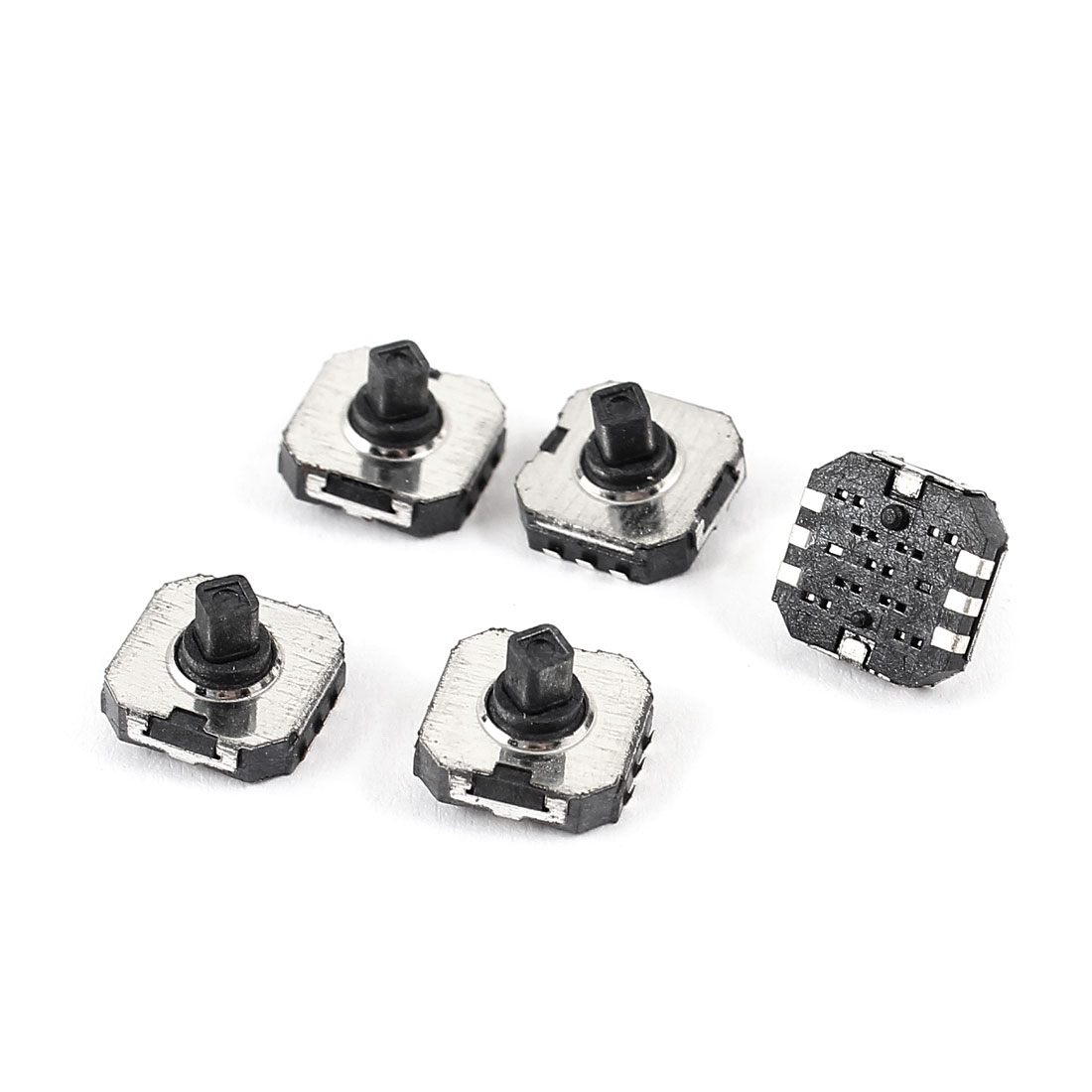 5pcs SMD SMT Panel PCB 6-Terminal 5 Way Momentary Tactile Switch 7x7x5mm
