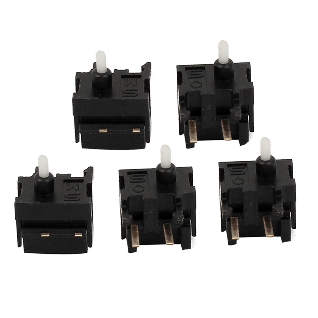 5 Pcs PCB Mount Tactile Push Button SPST Mini Micro Switch 7x6.5x5mm