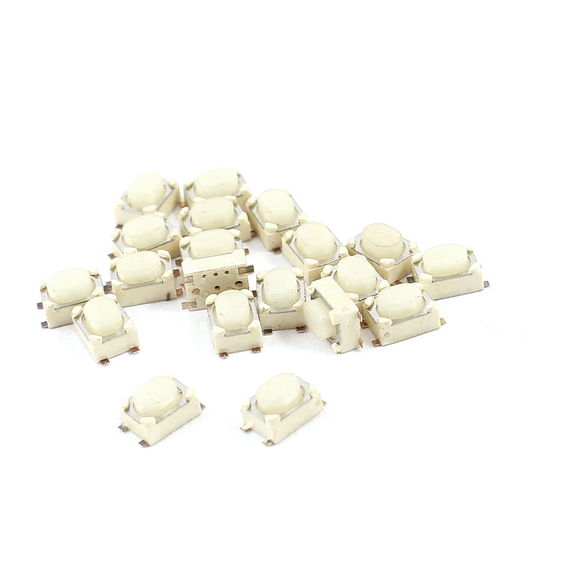 20pcs Momentary Push Button PCB SPST Tactile Tact Switch 4mmx3mmx2.5mm
