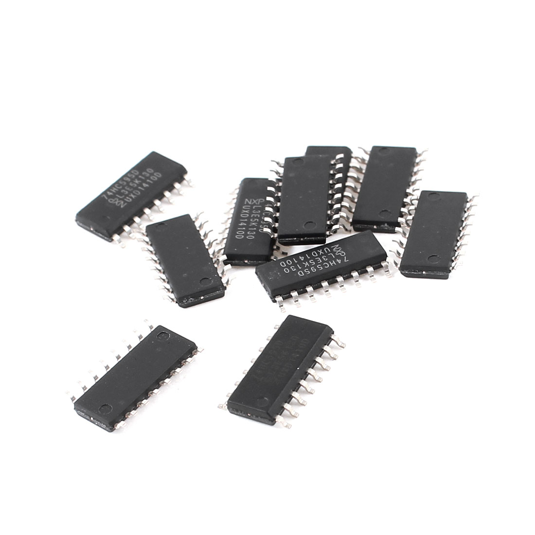 10 Pcs 74HC595D Electronic SMD 4mm SOP-16 8-Bit Latch Shift Register