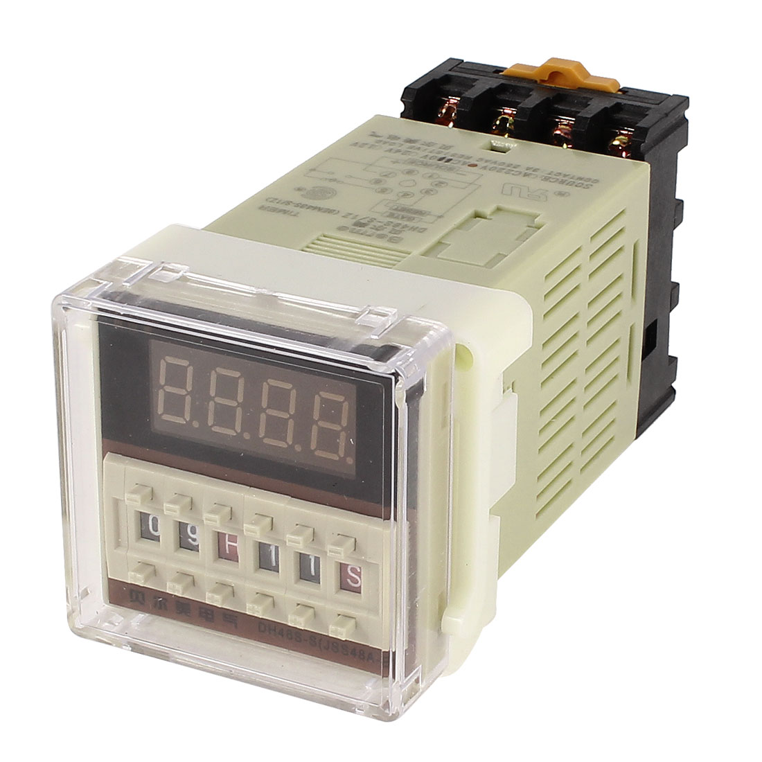DH48S-S/1Z 0.01s-99h/99m Digital Timer Time Delay Relay 8Pin Terminal AC 110V