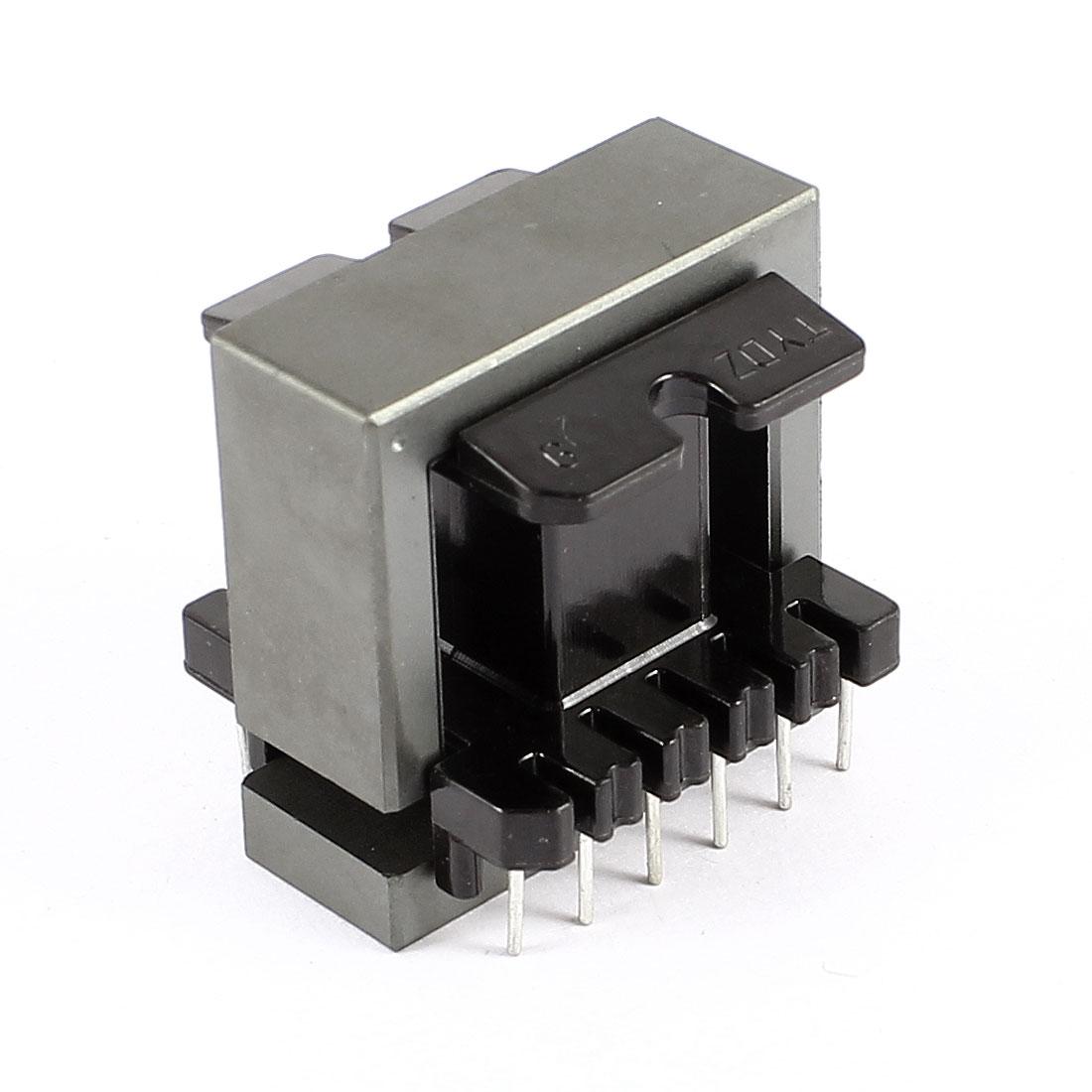 Plastic Iron Inductor 12 Pin Transformers Coil Former Robbin EI33 Ferrite Core Bobbin Black