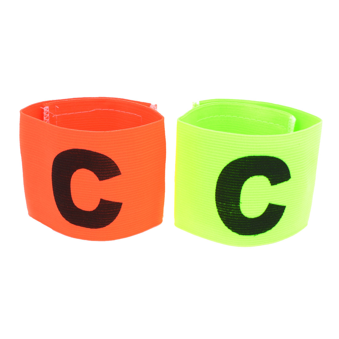 Sports Ball Game Character C Printed Elastic Captain Armband Sleeve 2pcs