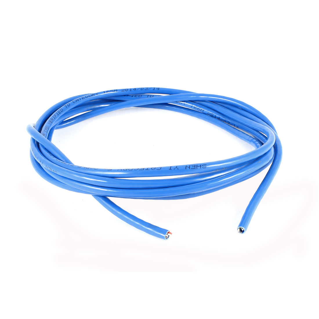 Cat5e Cable UTP Wire Ethernet LAN Network Cat5 Cord Blue 10Ft 3 meters