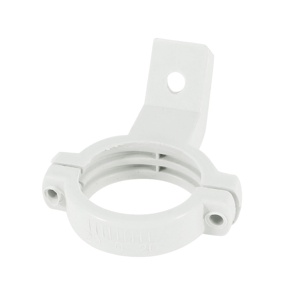 35-40mm Plastic Single Dish Bracket Holder Mount White for Ku Band