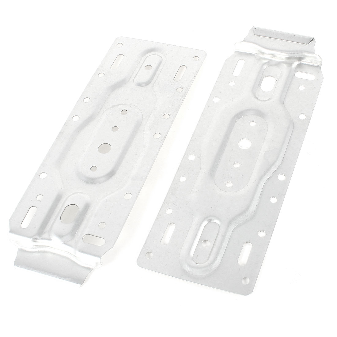 "2 Pcs Rectangle Metal Hollow Out Hanging Board 8"" x 3"" for Air Conditioner"