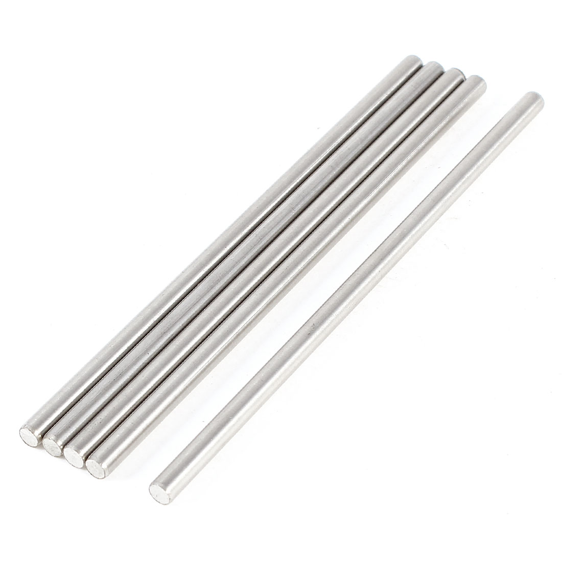 5 Pcs Car Helicopter Model Toy DIY Stainless Steel Axles Rod Bars 3mm x 80mm
