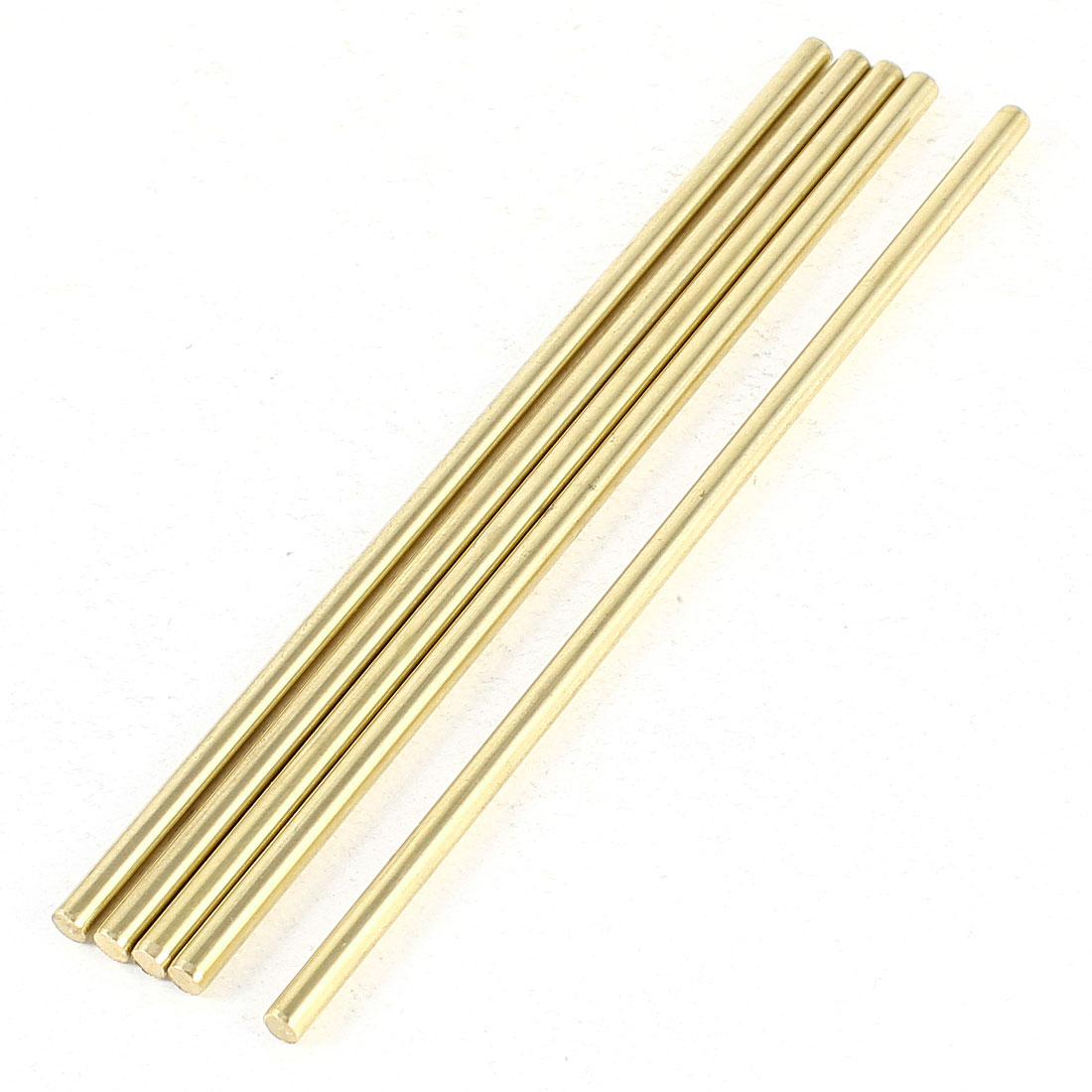 5 Pcs Car Helicopter Model Toy DIY Brass Axles Rod Bars 3mm x 100mm