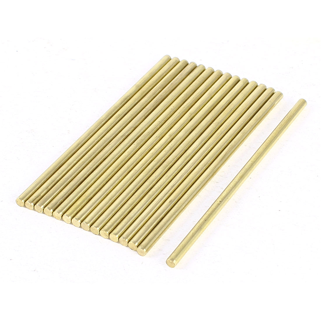 15 Pcs Car Helicopter Model Toy DIY Brass Axles Rod Bars 3mm x 80mm