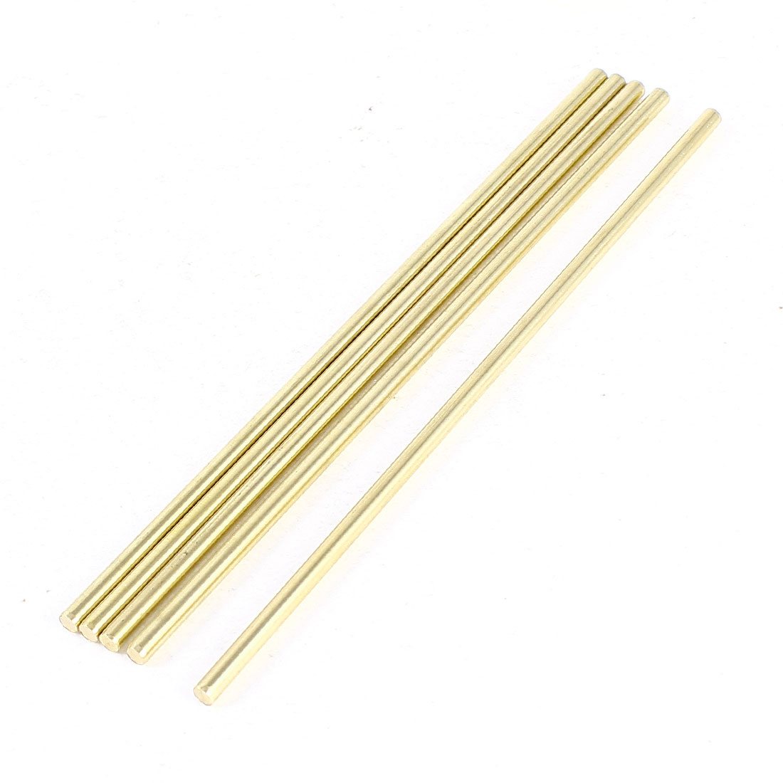 5 Pcs Car Helicopter Model Toy DIY Brass Axles Rod Bars 3mm x 120mm