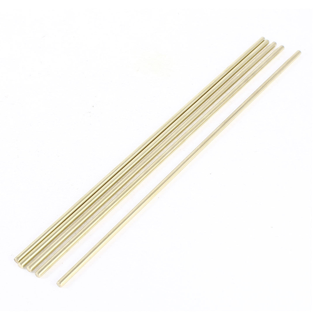5 Pcs Car Helicopter Model Toy DIY Brass Axles Rod Bars 3mm x 130mm
