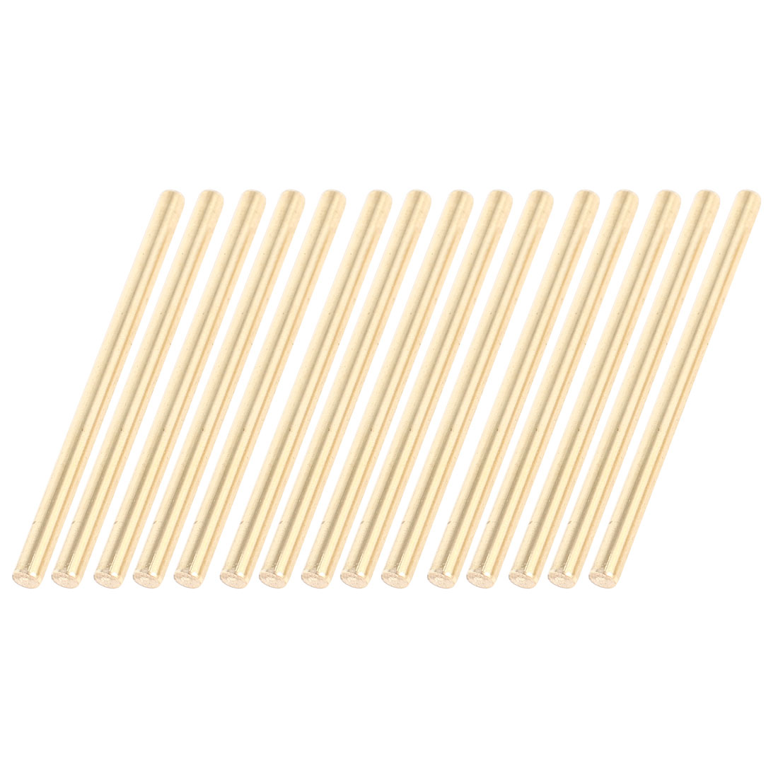 15 Pcs Car Helicopter Model Toy DIY Brass Axles Rod Bars 3mm x 50mm