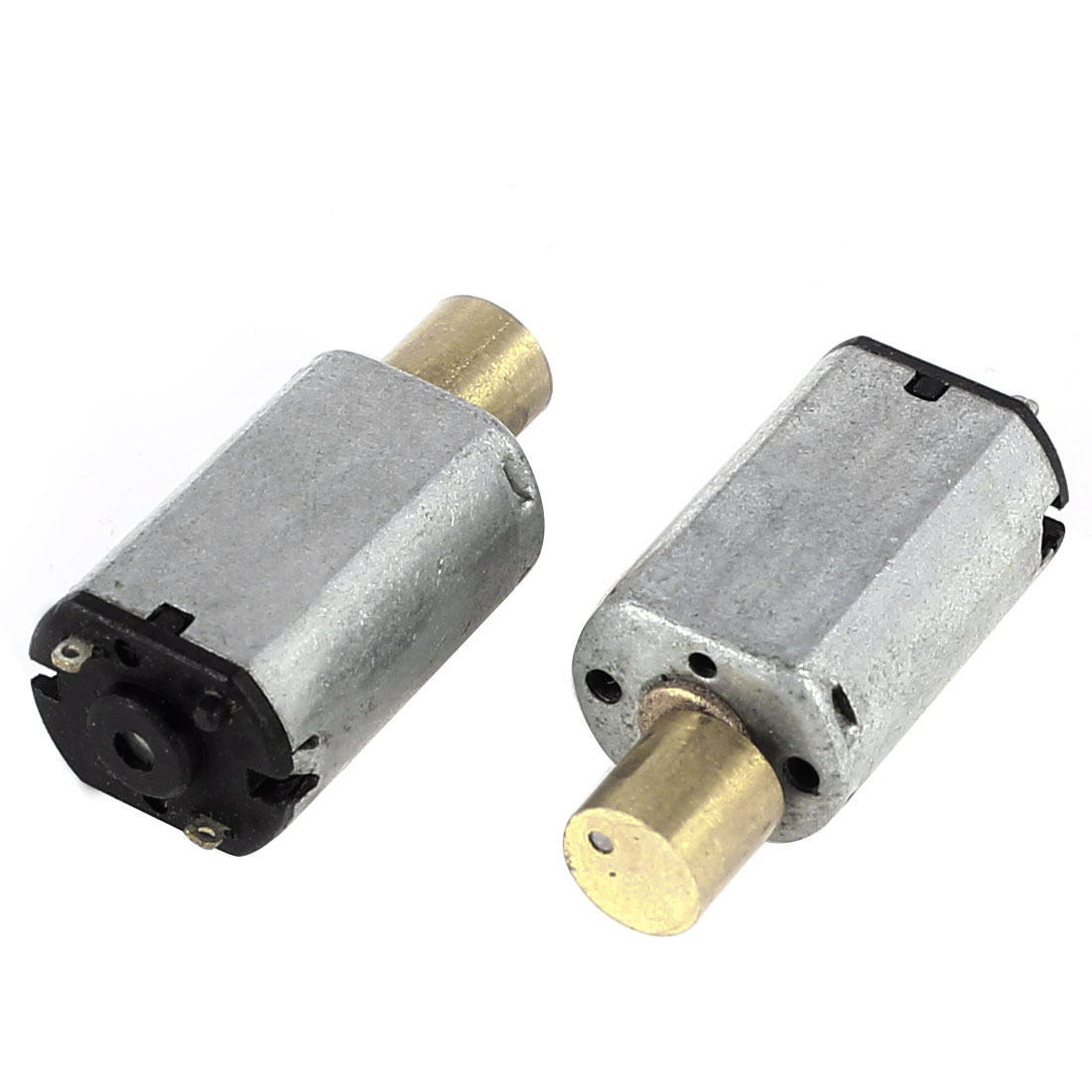 2 Pcs Mini Vibration Vibrating Electric Motor DC 1.5-4V 15000RPM M20 for Toys