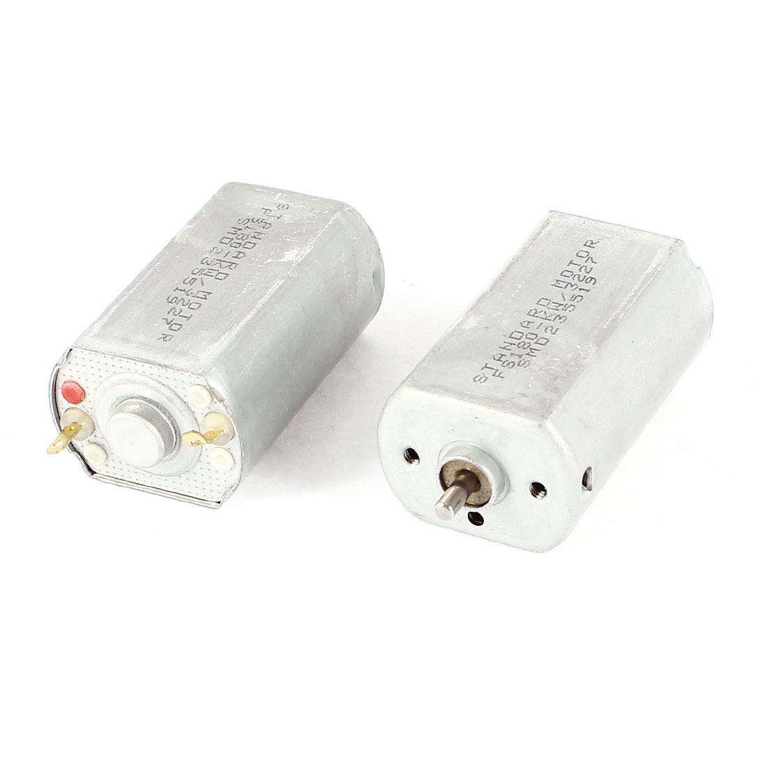 2 Pcs DC 12V/11400RPM 6V/5700RPM Motor for Car Model Toys DIY