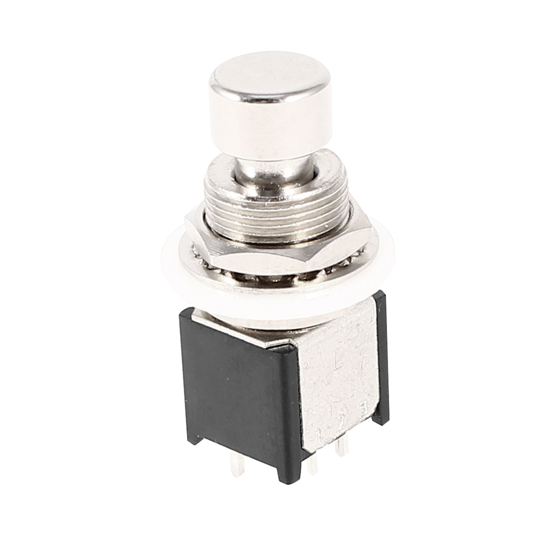 ST6PX02L DPDT 6Pin True Bypass Mod Guitar Effects Pedal Footswitch Momentary Switch AC 125V 4A