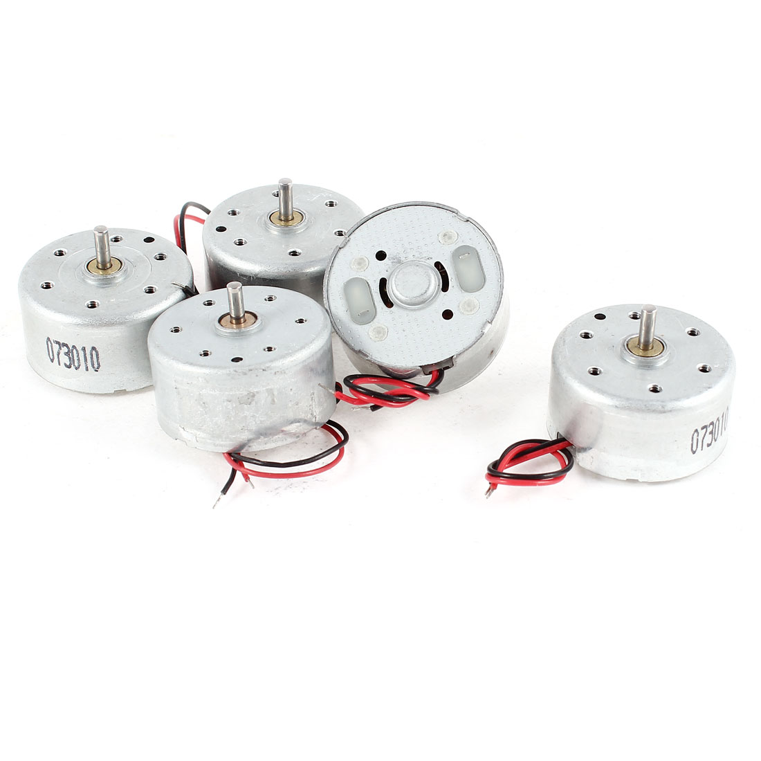 5 Pcs DC 1.5-3V 4500RPM Electric Mini Motor 12x25mm for CD DVD Player