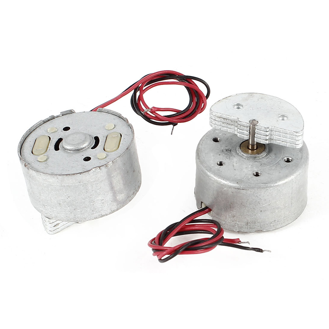 2 Pcs Mini Vibration Vibrating Electric Motor 3500RPM DC 1.5-6V RF300 for Toys Game Devices