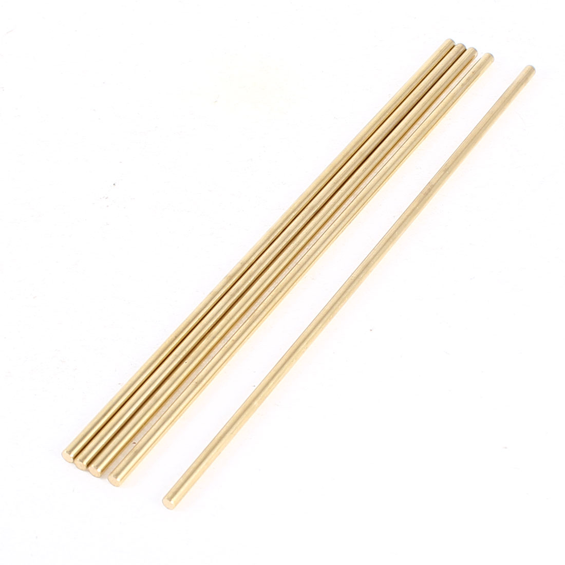 5 Pcs Car Helicopter Model Toy DIY Brass Axles Rod Bars 3mm x 150mm