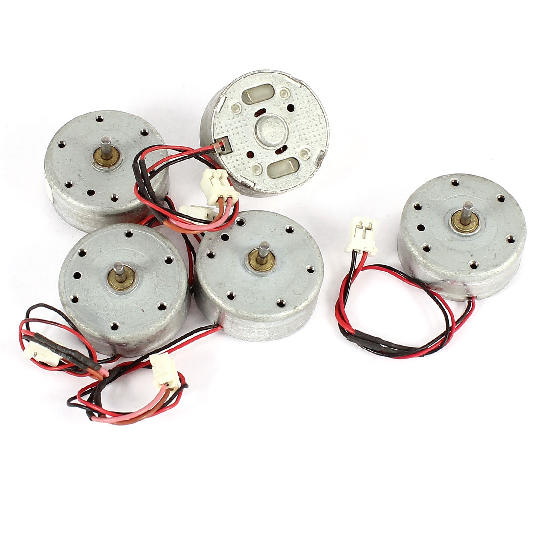 5 Pcs DC 1.5-4.5V 3200RPM Electric Mini Motor 9x25mm for CD DVD Player