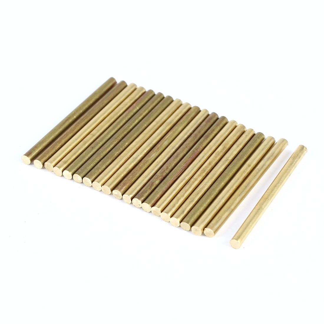 20 Pcs Car Helicopter Model Toy DIY Brass Axles Rod Bars 2mm x 30mm