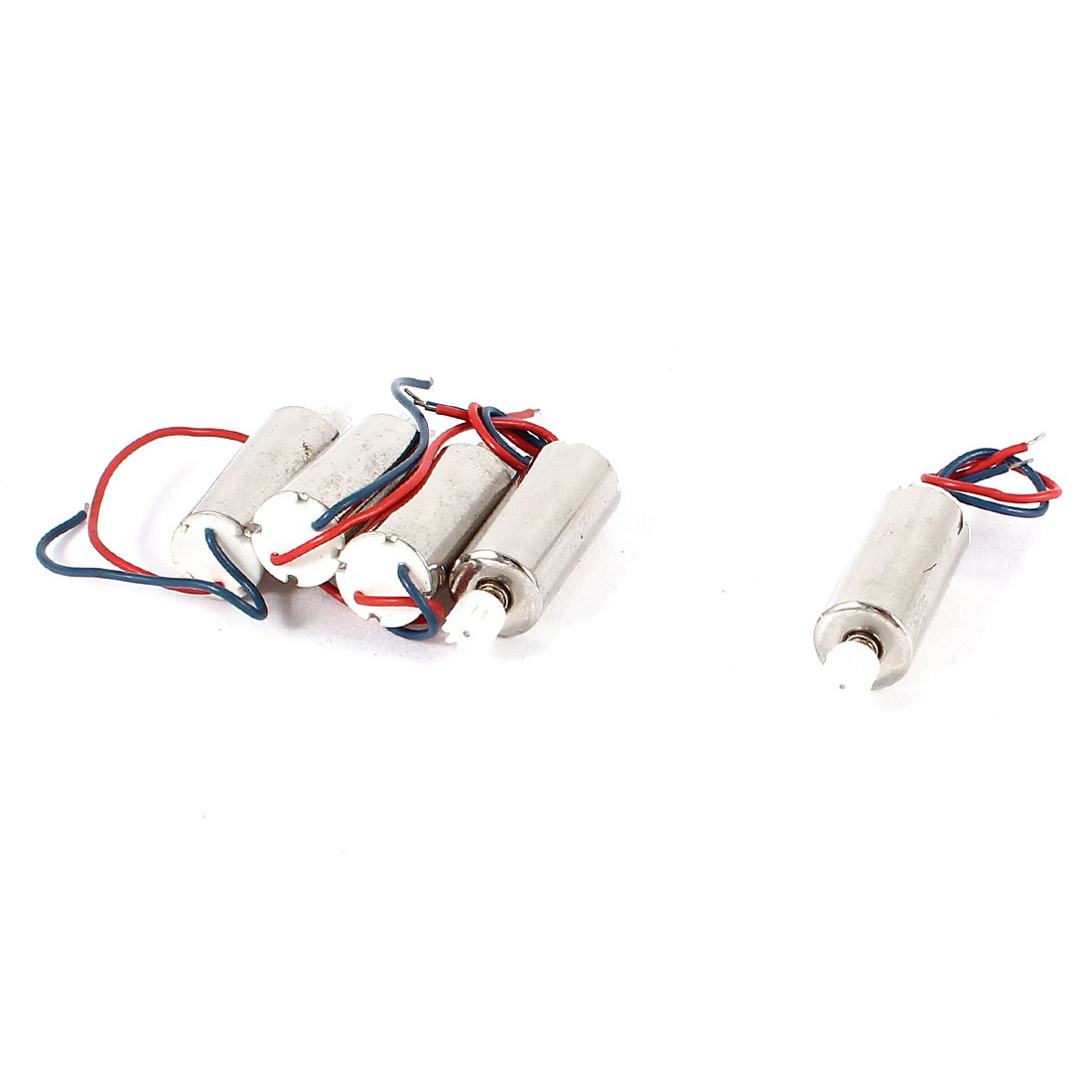 5 Pcs DC 3V 60-70mA 20000-40000RPM 7x16mm Coreless Greared Motor for RC Helicopter Toy