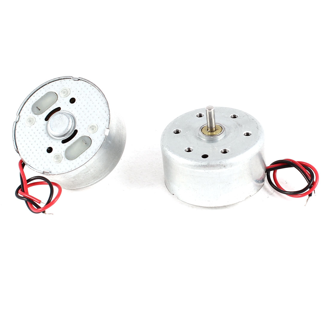 2 Pcs DC 1.5-3V 4500RPM Electric Mini Motor 12x25mm for CD DVD Player