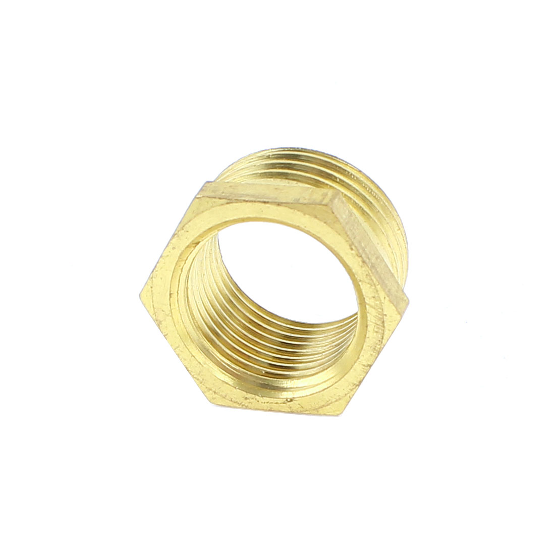 Male 3/4PT to Female 1/2PT Brass Bushing Brass Connector Fitting