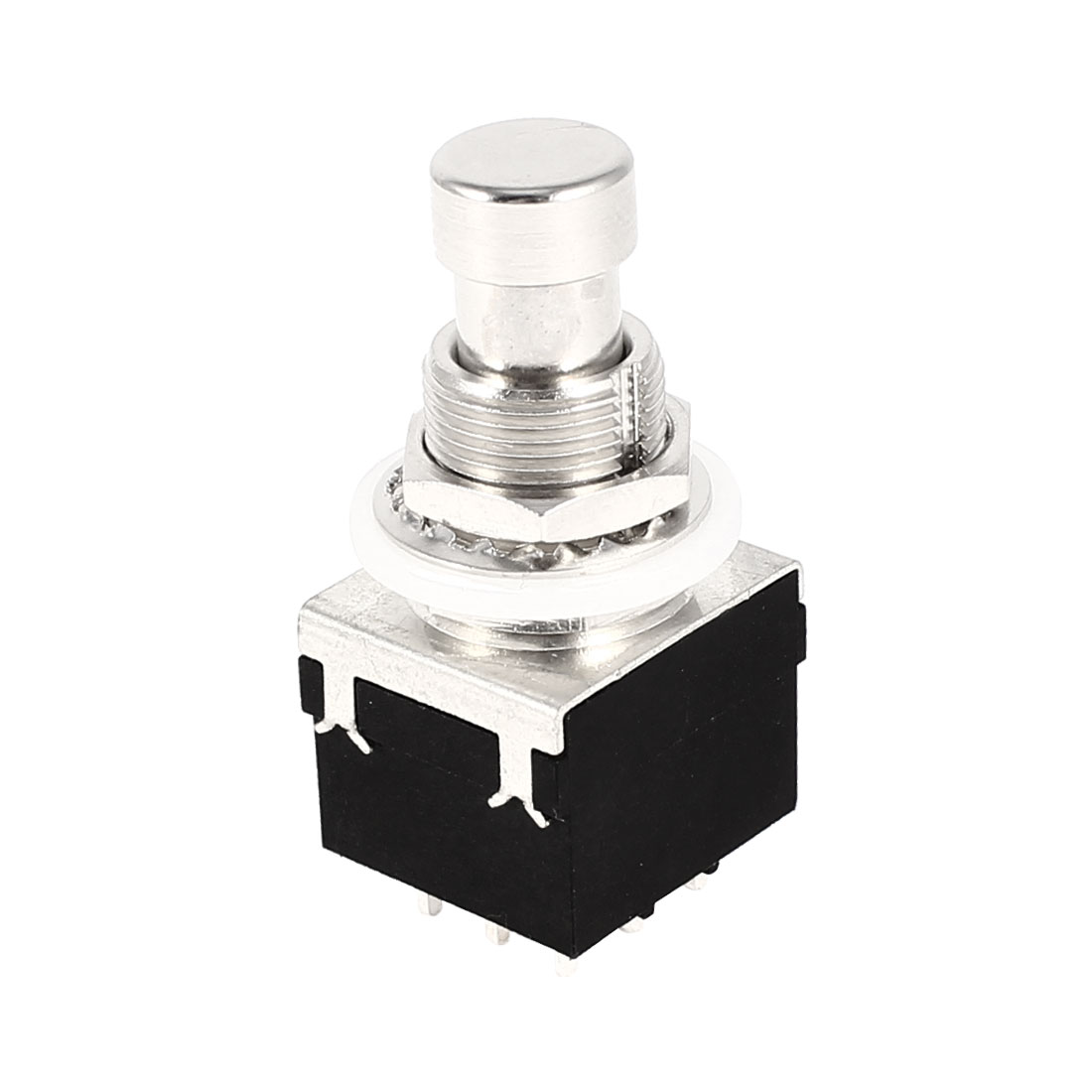 ST9PX02L 3PDT 9Pin True Bypass Mod Guitar Effects Pedal Footswitch Momentary Switch AC 125V 4A