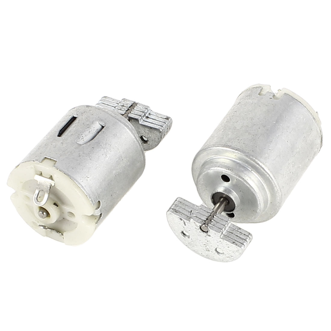 2 Pcs 25mm Dia Mini Vibration Vibrating Electric Motor DC 3-6V 12000RPM 280 Model for Toys