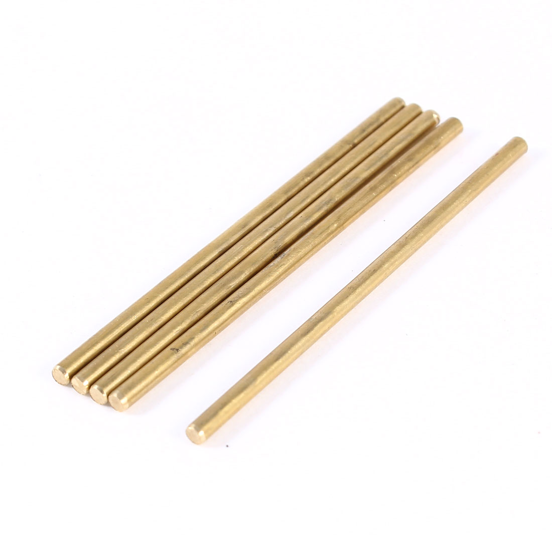 5 Pcs Car Helicopter Model Toy DIY Brass Axles Rod Bars 2mm x 50mm