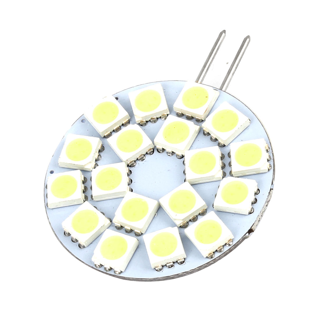G4 White 5050 SMD 2 Side Pin 18-LEDs Bulb Dashboard Light Lamp for Auto Internal