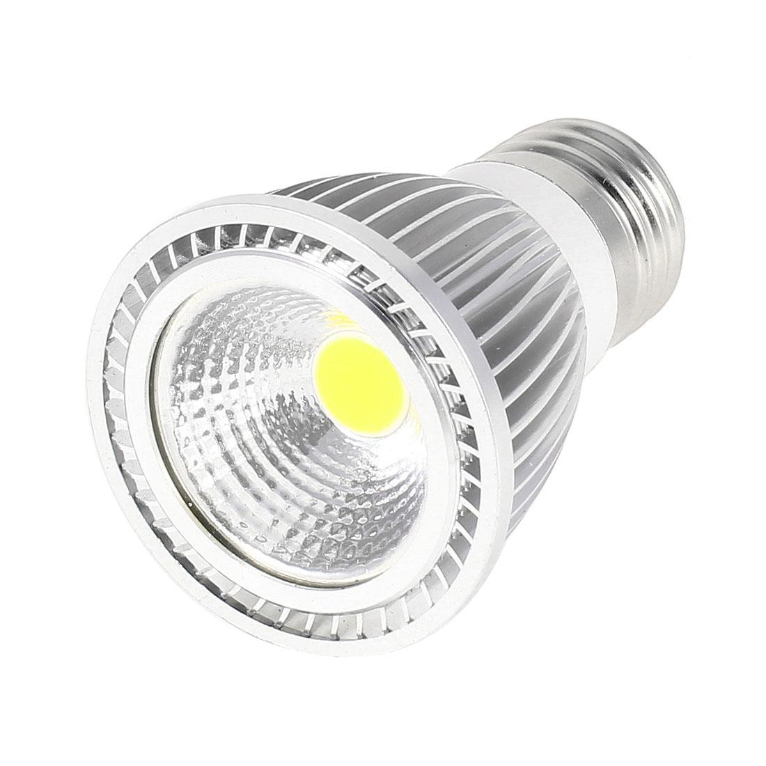 AC 85-265V E27 Socket 5W COB Warm White LED Light Ceiling Spotlight Lamp Bulb