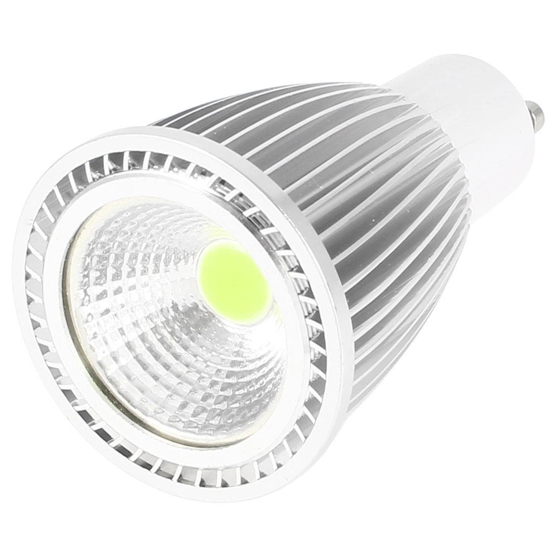 AC 85-265V GU10 Socket 7W Power COB Warm White LED Light Ceiling Spotlight Lamp Bulb