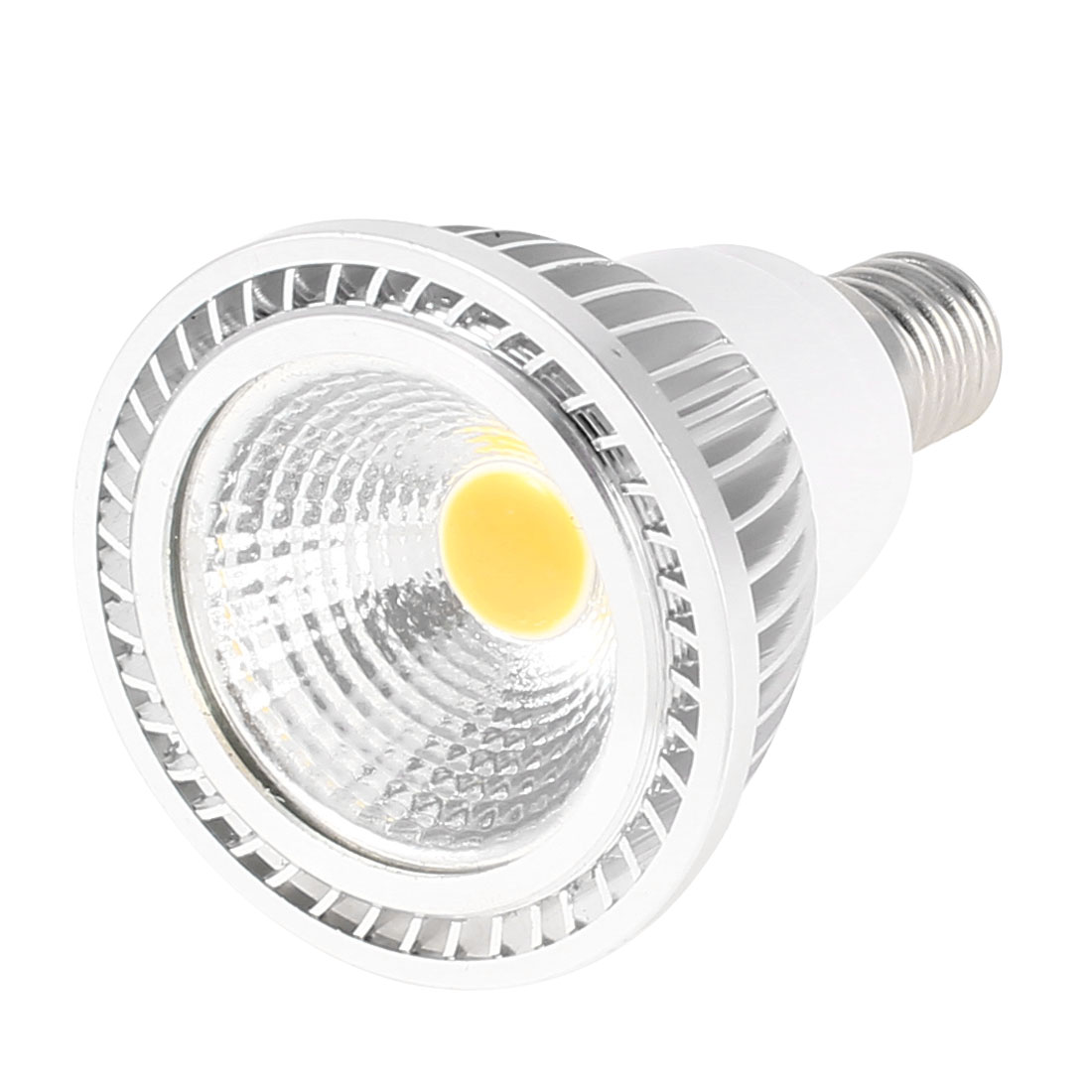 AC 85-265V E14 Base 3W Power Warm White LED Light Ceiling COB Spotlight Lamp Bulb