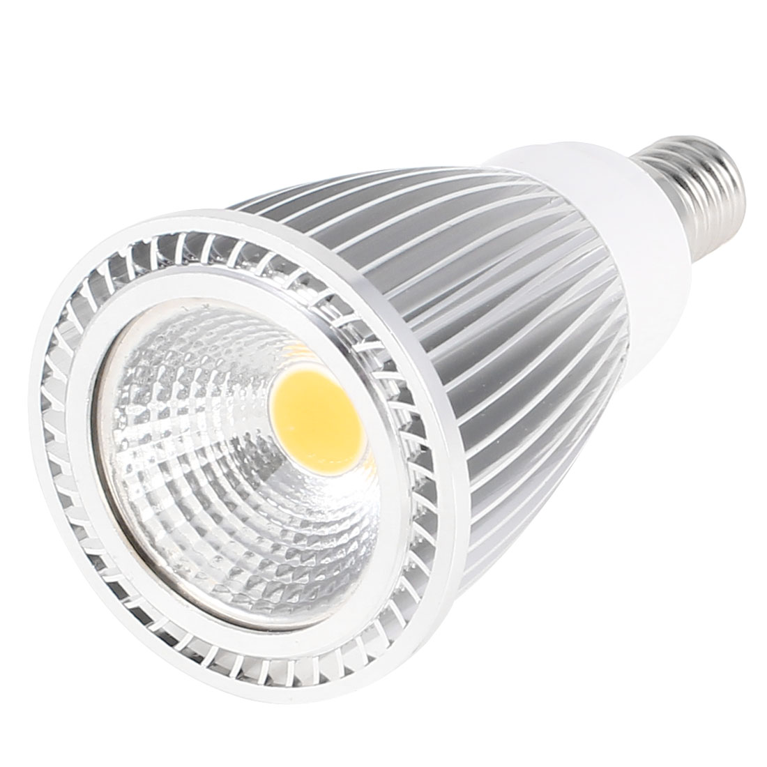 AC 85-265V E14 Base 7W Power Warm White LED Light Ceiling COB Spotlight Lamp Bulb