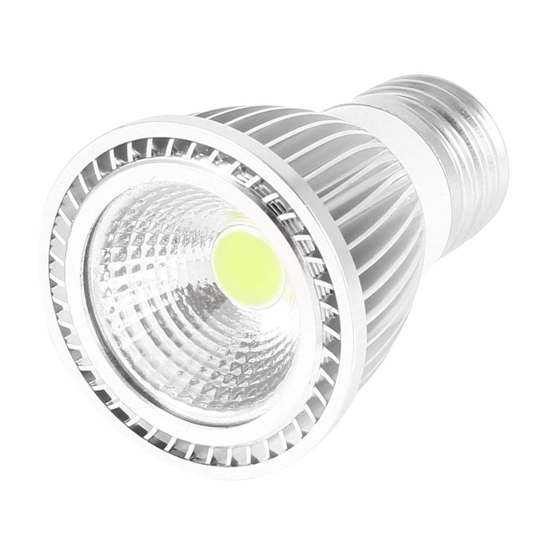 AC 85-265V E27 Base 5Watt White LED Light Energy Saving Ceiling COB Spotlight Bulb