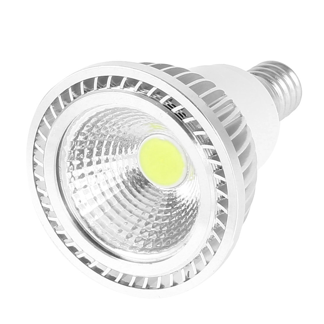 AC 85-265V E14 Base 3Watt White LED Light Energy Saving Ceiling COB Spotlight Bulb