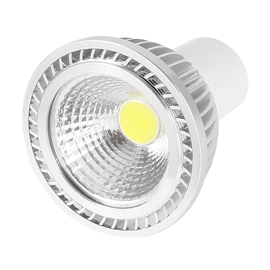 AC 85-265V GU10 3W White LED Light Energy Saving Ceiling COB Spotlight Bulb