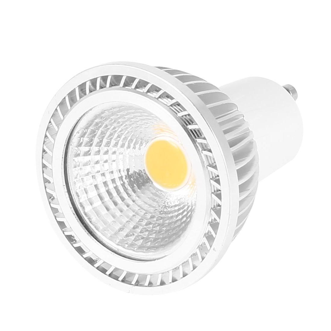 AC 85-265V GU10 3W Power Warm White LED Light Ceiling COB Spotlight Lamp Bulb