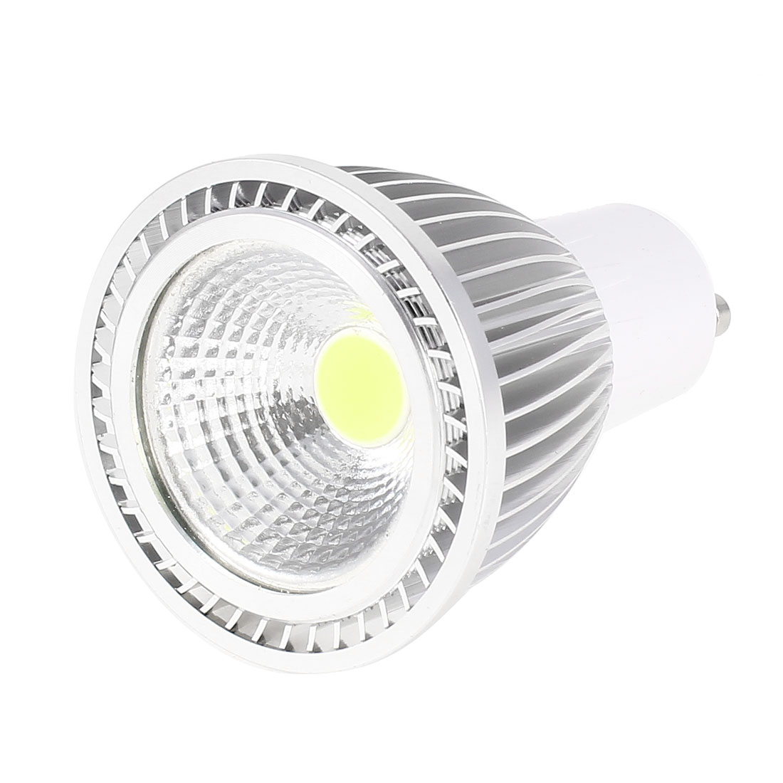AC 85-265V GU10 Socket 5W White LED Energy Saving Ceiling COB Spotlight Bulb