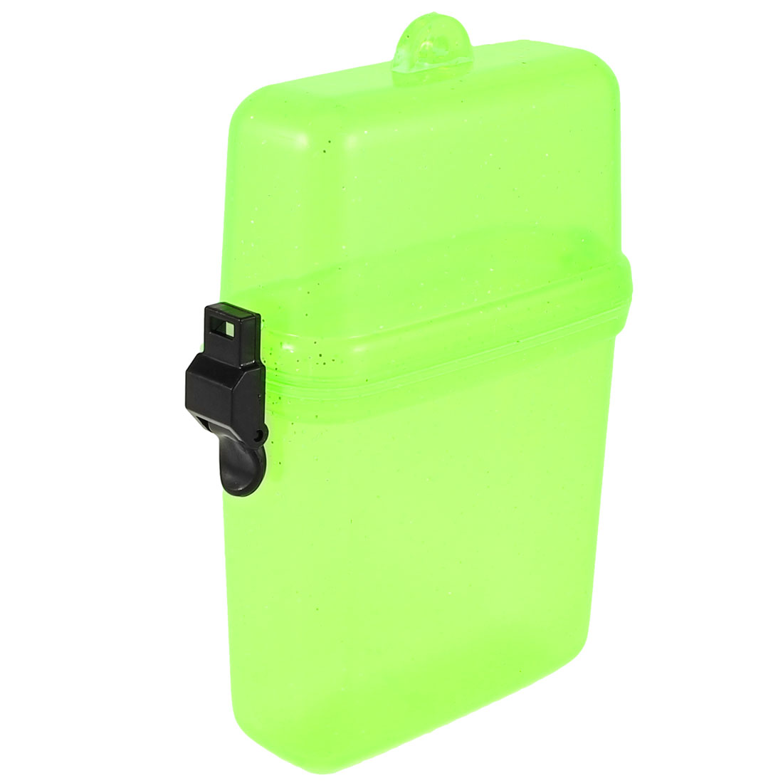 Plastic Waterproof Case Box Clear Yellow Green for Mobile Phone Watches