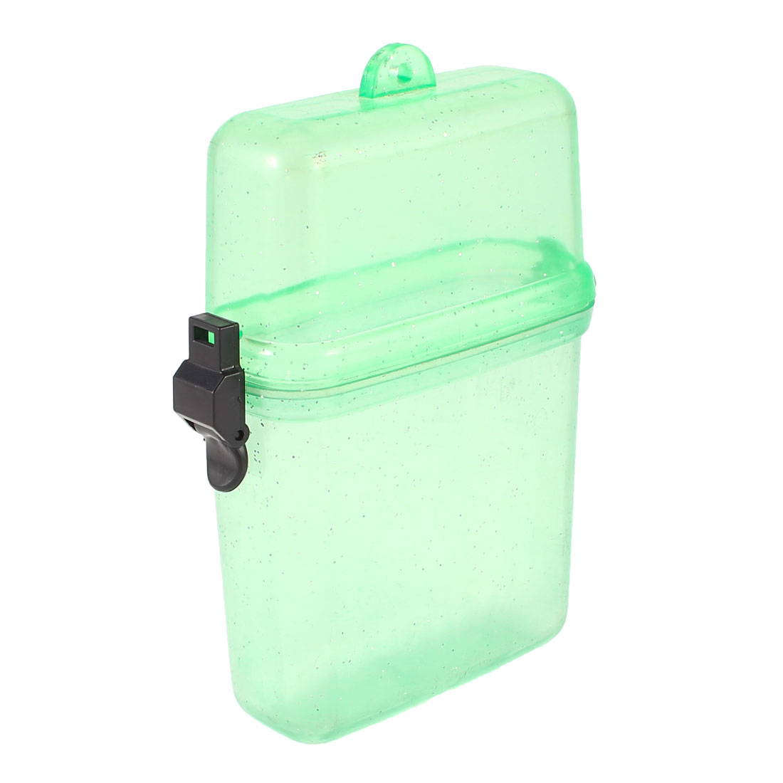Plastic Waterproof Case Box Container Clear Green for Mobile Phone Watches